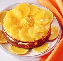 Рецепты: Чизкейк с апельсинами