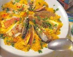Суп рыбный с кускусом – кулинарный рецепт
