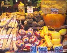 Сырное и колбасное изобилие Эмилии-Романьи