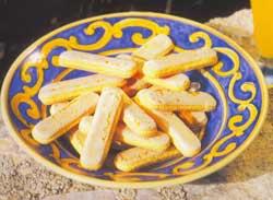 Рецепты: Бисквитное печенье Савоярди