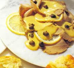 """""""Тоннато тоннато"""" – татаки из свежевыловленного тунца под соусом тоннато, пошаговый рецепт с фото"""