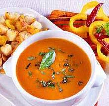 Томатный суп с острым перчиком